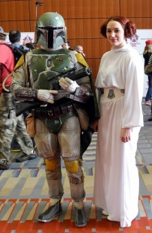 Ponte with Princess Leia (Samantha Roppelt)