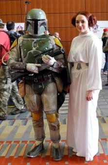 Ponte with Princess Leia (Samantha Roppelt)
