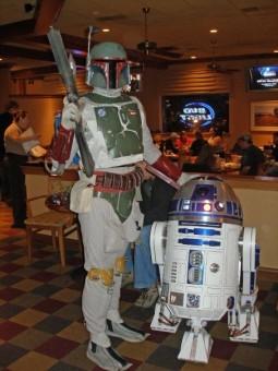 Chana with R2-D2
