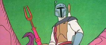 "Tribute to Don Francks, the Voice of Boba Fett in the ""Holiday Special"""
