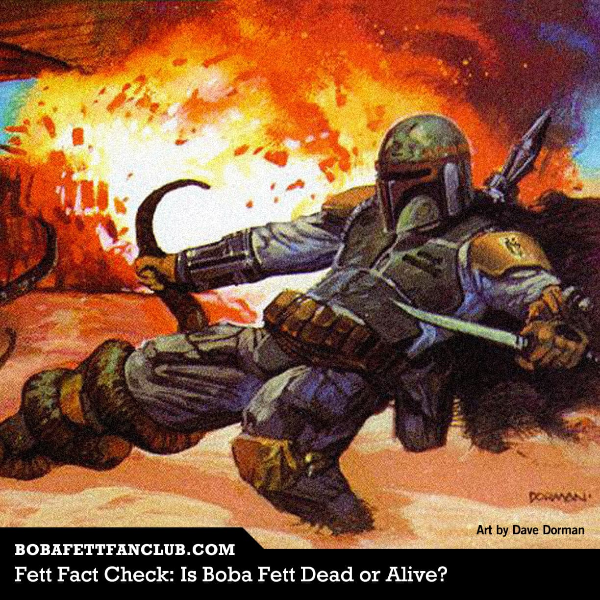 Is Boba Fett Dead or Alive?