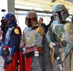 Photo credit: @jcfett on Instagram. This Boba Fett costumer has more than 1,500 followers on Instagram where you can see his amazing craftsmanship at conventions across the country and sometimes overseas.