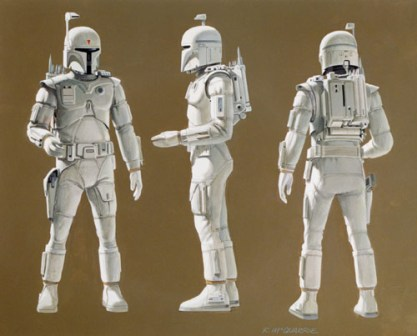 mcquarrieoncept Could Boba Fetts Prototype Armor Appear In Rebels?