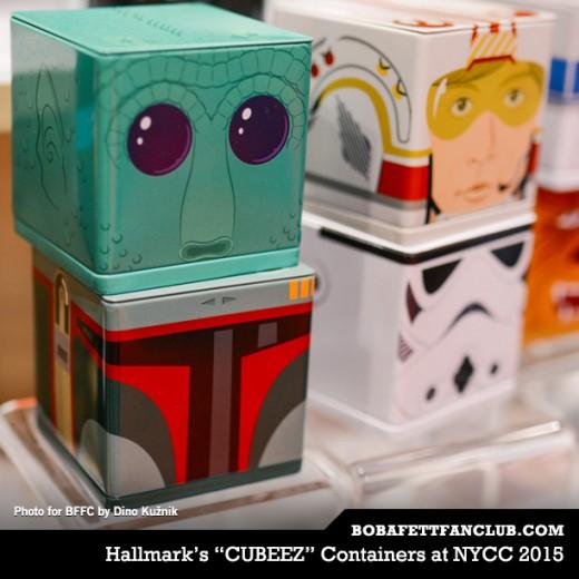 """Hallmark's """"CUBEEZ"""" Containers"""
