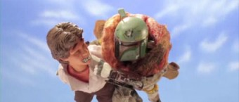robotchicken3 fett flying 340x145 Robot Chickens Breckin Meyer Does His Boba Fett Impression on Conan OBrien