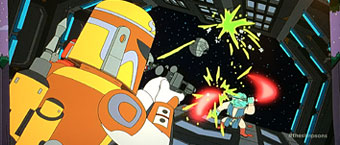 simpsons episode 7 tn The Simpsons Steal This Episode Includes Fett Like Parody for Episode 7