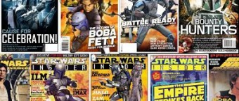 Star Wars Insider has printed many Boba Fett articles, including all these covers with Fetts / Mandos.
