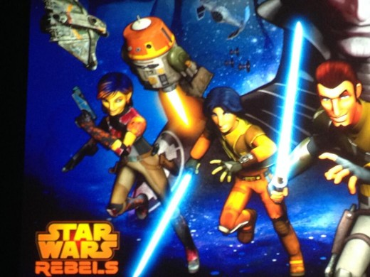 star wars rebels via lucas siegel 520x390 Star Wars Rebels To Feature Sabine, A Female Mandalorian in Pink Armor