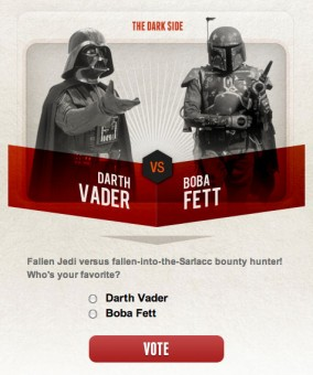 starwars madness final4 284x340 Did You Vote for Boba Fett Today?