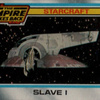 Topps The Empire Strikes Back #138 Slave I (1980)