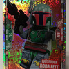 Lego Star Wars Trading Card Collection #102 Boba Fett angry - Foil Card