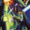 Topps Shadows Of The Empire #91 4-LOM Tries His Luck Against Fett (1996)