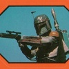 Topps Return Of The Jedi Series 1 Sticker #25 Boba Fett (1983)