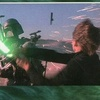 Topps Return of the Jedi Widevision #36 - Ext. Skiff