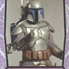 Topps Star Wars Galactic Files #40 Jango Fett (2012)