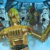 Star Wars Galaxy 6 #24 Curiosity Zaps Threepio (2011)
