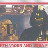 Topps Star Wars Heritage #37 Darth Vader and Boba Fett (2004)