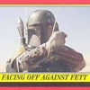 Topps Star Wars Heritage #51 Facing Off Against Fett (2004)