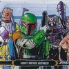Topps Star Wars Illustrated: The Empire Strikes Back #62 Bounty Hunters Assembled (2015)