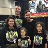 Jason Jeffers, His Family, and Daniel Logan - 21st Anniversary ESB shirt