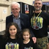Jason Jeffers, His Family, and Jeremy Bulloch - 21st Anniversary ESB shirt