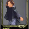 Star Wars: Card Trader, Young Boba Fett (Gold) (Front)...