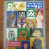 American Greetings 38 Star Wars Stickers