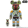 Bearbrick BAPE Boba Fett 2-Pack (100% and 400%)