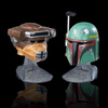 Black Series Titanium Series Princess Leia Organa (Boushh) and Boba Fett Helmet 2-Pack (2016)
