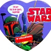 Boba Fett Heart Tin with 8 Lollipops (2015)