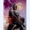"""Boba Fett Landing in Japan"" by Tsuneo Sanda..."