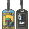"""Property of Mandalore"" Boba Fett Luggage Tag (2014)"