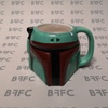 Boba Fett sculpted mug