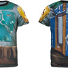 Boba Fett Sublimated Costume Fitness T-Shirt (2014)