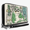 BoxLunch Boba Fett Jabba The Hutt Han Solo Carbonite Scene Women's Zip Around Wallet