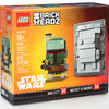 Brick Headz Boba Fett and Han Solo in Carbonite (41498) (NYCC Exclusive)