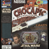"Chocapic ""Attack of the Clones"" Cereal Box with Jango Fett and Mace Windu Card"