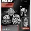 Chroma Graphics Star Wars Wordle Automotive Decal Set