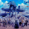 """Cloud City Celebration"" by Tsuneo Sanda"