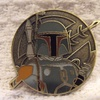 Disney Boba Fett Gold Coin Medallion Trading Pin (2011)