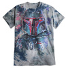 Disney Boba Fett Tie-Dye Tee for Adults
