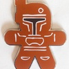 Disney Gingerbread Mystery Collection Boba Fett Pin (2014)