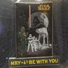 "Disney Star Wars ""May The 4th Be With You"" Pin (2015)"