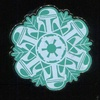 Disney Star Wars Snowflake Pin Set, Boba Fett (2016)
