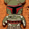 Disney Vinylmation Boba Fett Pin (2010)