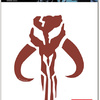 FanWraps Mandalorian Skull Window Decal