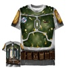 Fifth Sun Boba Fett Costume All-Over T-Shirt