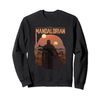 Fifth Sun The Mandalorian Boba Fett Logo Fill Sweatshirt