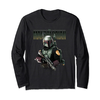 Fifth Sun The Mandalorian Boba Fett Logo Long Sleeve T-Shirt