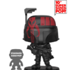 "Funko Super Sized Pop ""Black with Red"" Boba..."